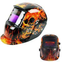 arc welding power - Welding Accessories Solar Powered Welders Mask Auto Darkening Welding Helmet ARC TIG MIG Weld For Welding Machine Plasma Cutter