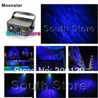 american dj laser - DHL mW RG Romantic Moon Star laser light dj laser lights with Bright W Blue Led American Stage Disco Lighting