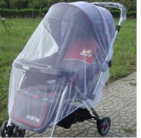 Wholesale Infants Baby Stroller Mosquito Nets net Buggy Pram Protector Pushchair Fly Midge Insect Bug Cover top quality factory price