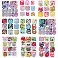 Wholesale SALE Cotton Baby bib Infant saliva towels Baby Waterproof bib styles Random delivery Baby wear retail