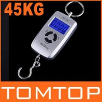 Cheap 45kg Double Precision Hook Pocket Electronic Fishing Hanging Weight Digital Scale , freeshipping, dropshipping wholesale
