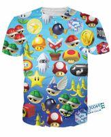 banana flash - OPCOLV New Funny Cartoon D T Shirt Mushroom Banana Star Print Casual Harajuku D Cute Fashion Tops Camisetas Brand Clothing