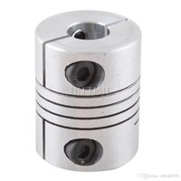 Wholesale New x mm CNC Motor Jaw Shaft Coupler mm To mm Flexible Coupling