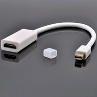 Wholesale DHL FREE MINI Display Port DP to HDMI Adapter For MacBook Pro Air