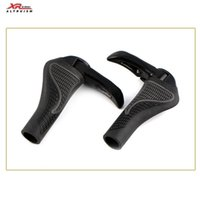 bicycle disc brake - Grips for bicycle sleeve bike lock horns mountain bike handle grips pay the Ergonomic Grips bicycle sponge soft grips