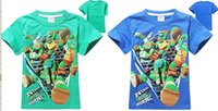 Wholesale 18 OFF HIGH Quality Kids T shirt boy children T shirt Teenage mutant ninja turtle short sleeved cotton T shirt Boys Clothing1pcs TM