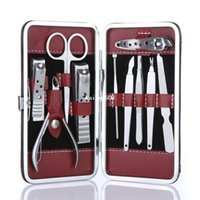 clippers - 10 in Stainless Steel Manicure Pedicure Ear pick Nail Clippers Set Care Products