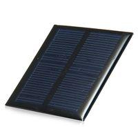 0.6W 5.5V 90mA Мини-панель солнечных батарей поликристаллического кремния для солнечных батарей модуля DIY зарядное 65x65mm 6pcs / серия Свободная перевозка груза