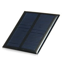 Wholesale 0 W V MA Mini Solar Panel Polycrystalline Silicon Solar Cell for Module DIY Charger x65mm