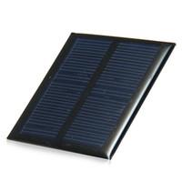 al por mayor silicio w-0.6W la mini célula solar del silicio policristalino del panel solar de 5.5V 90MA para el cargador 65x65m m 6pcs / lot del módulo DIY libera el envío