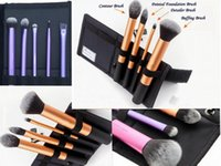 real techniques makeup brush - Professinal Brushes Case Real Brush set Techniques Makeup Brush Kit set Make up Brush Core Collection D014