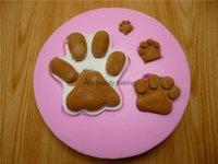 bear kitchen accessories - Beautiful bear silicone mold Fondant Cake Mold chocolate soap kitchen tools baking decorative accessories