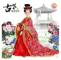 ancient chinese toys - best selling fashion dolls Toys for Barbie Doll Chinese ancient costume princess Authentic simulation dolls
