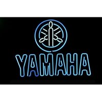 auto dealers new - NEW JAPAN YAMAHA MOTORCYCLE AUTO DEALER HANDICRAFT NEON LIGHT BEER BAR PUB REAL GLASS TUBE SIGN x14 quot