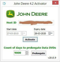 agriculture software - New John Deere Service Advisor Activator All functions prolongation tool Agriculture Equipment CF Construction and Forestry