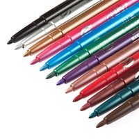 Wholesale High Quality Waterproof Colorful Eyeliner Liquid Make Up Beauty Comestics Eye Liner Eyeshadow Pencil Gift