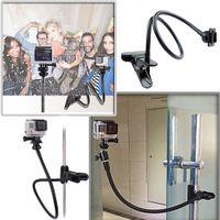 Wholesale Andoer quot Flexible Adjustable Gooseneck Long Arm Mount Clamp Clip Holder for Sport Camera GoPro Hero SJCAM D2301