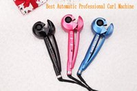 Wholesale Hair Curl Machine Make New Hair Style in no Time Automatic Rollers Professional Hair Curler Hair Care Device DIY Long lasting Curls