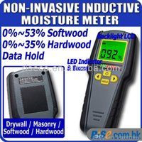 Wholesale Digital Non Invasive Inductive LED modes Wood Drywall Masonry Moisture Meter A3