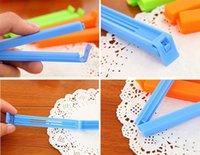envío gratuito de Plástico de Color clip de la Bolsa de talla Plus Sellador de comida saborizante basura pack de accesorios de Cocina de la Novedad del hogar