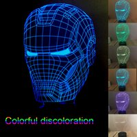 Wholesale New LED Desk Lamps Star Wars Led Christmas Decoration Lights D Lighting Iron Man Night Lights LED Light Cubes Color Changing Colorful Light