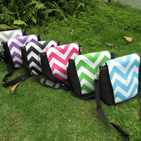 Wholesale Blanks Chevron Camera Shoulder Bag Zig Zag Camera Organizer Fitted Camera Case Ready in Stock DOM103016
