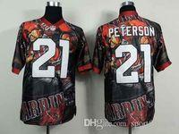 camo football jerseys - Cheapest Hot Sale jerseys arizona cardinals peterson Elite camo Fanatical version