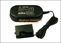 Wholesale CA PS700 DR E10 ACK E10 ACKE10 AC Adapter Kit for Canon EOS D D Kiss X50 Rebel T3 T5 DSLR Cameras