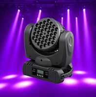 2pcs / lot conduit la tête de déplacement rgbw la lumière de lavage 36 X 3W RGBW Beam LED Lumière de scène de la scène en mouvement Dj Lights