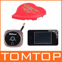 Wholesale 2 GHz quot TFT Wireless Video Door Phone Intercom Camera Night Vision Visual Doorbell Home Security