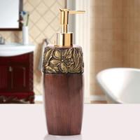 acrylic soap pump - Freeshipping ml Acrylic Soap Dispenser Lotion Dispenser Plastic Sanitizer Bottle Shampoo Bottle Resin Bottle Pump Dispenser