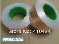 Wholesale 50MM X M Single Conductive COPPER FOIL TAPE Strip