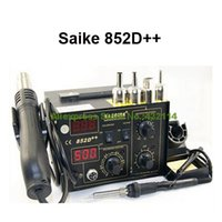 Wholesale Free Gifts SAIKE D Iron Solder Soldering Hot Air Gun in Rework Station V V Upgraded from SAIKE D