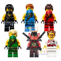 Wholesale High Quality New Ninja Cole Jay Kai Zane No original box Mini Figures