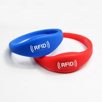 RFID Access Control - Silicone wristband RFID bracelet waterproof KHz TK4100 LF Access Control Card Waterproof