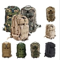 Wholesale Hot Sale Men Women Outdoor Military Army Tactical Backpack new high quality Molle Camping Hiking Trekking Camouflage bag colors