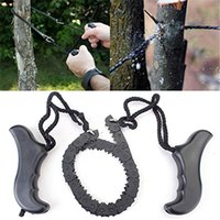 Wholesale Multifunction Pocket Chain Saw Hand Saw Chain Outdoor Survival Tool Camping Hiking Supplies cm Long size