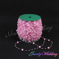 Wholesale 5 Meters Fishing Line Pearls Beads Chain Garland Flowers Wedding Party Decoration Bead Chain