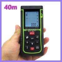 Wholesale 40m ft Digital Laser distance meter Handheld Laser Rangefinder measure Area volume tester