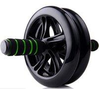 Wholesale dual exercise ab wheel tone fitness abs toning wheel fitness dual ab wheel