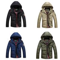 coat zippers - 2015 newest mens winter coats mens parka jackets men winter jacket coat Down Jacket M L XL XXL XXXL Colorful DHL