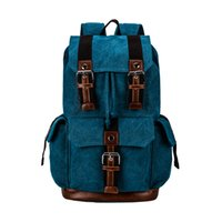 Wholesale New Fashion Printing Women Men s Canvas Backpack Schoolbag School bag for Goy girl Teenagers Ladies Casual Travel Backpacks bags