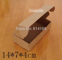 Wholesale Gift Box Handmade Soap Cosmetic Bottle Kraft Brown Boxes Packaging Paper Box Custom Boxes A2