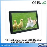 Wholesale 10 inch full hd professional small vga dvi hdmi open frame v battery computer LCD monitor