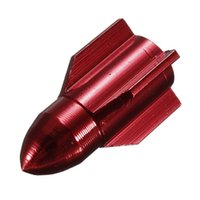 Wholesale FS Hot MTB Tyre Valve Cap Bicycle Tire Wheel Mouth Cover Dust Red order lt no track