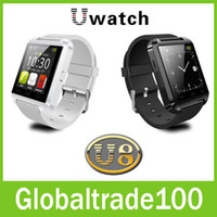 smart watch - U8 Smart Watch Bluetooth Wrist Watches Altimeter Smartwatch for Apple iPhone S Samsung S4 S5 Note Android HTC phones Smartphones Free DHL