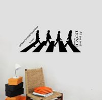beatles love vinyl - All You Need Is Love the Beatles Large Wall Decal Sticker Home Decoration Decor home art decor decal
