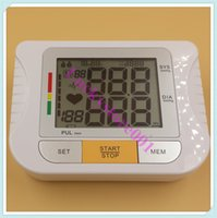 automatic packing machines - High Quality Pieces Pack LCD Digital Arm Blood Pressure Monitor Automatic Pulse Heart Beat Meter Machine