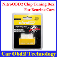 Wholesale 2016 Hot Sale NitroOBD2 Benzine Car Chip Tuning Box Plug and Drive OBD2 Chip Tuning Box More Power More Torque