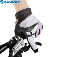 allure designs - GIANT New Fashion Design Women s Allure Bike Bicycle Cycling Gloves Full Finger Touch Screen for Smart phone Gloves Purple New